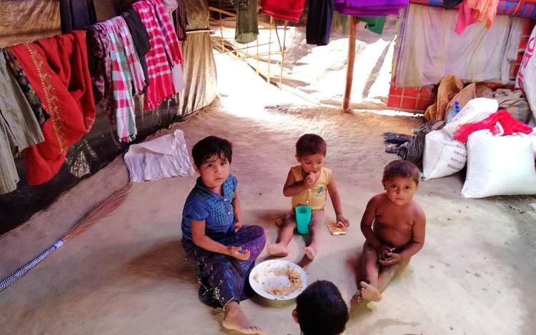 রোহিঙ্গা সংকট, আশ্রয় ও মানবিক বাংলাদেশ