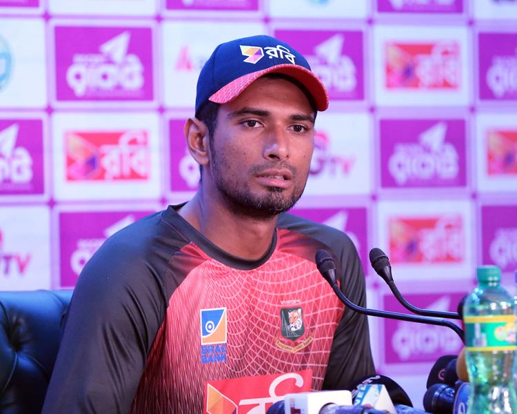 ভয়ডরহীন ক্রিকেট খেলতে চান মাহমুদউল্লাহ