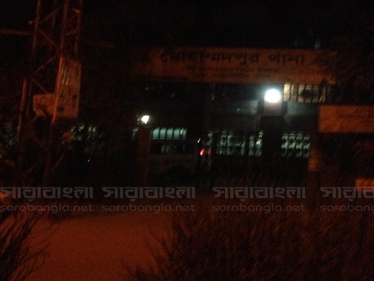 রাতভর কর্মব্যস্ত মোহাম্মদপুর থানা