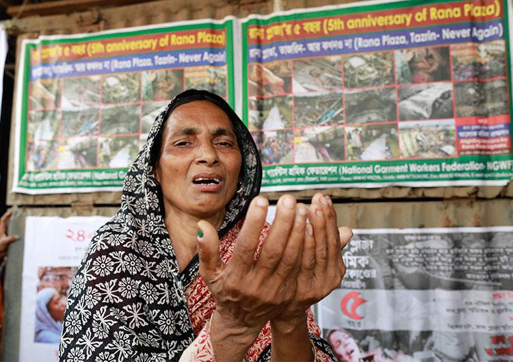 রানা প্লাজা ধসের ৫ বছর: স্বজনদের কান্না থামেনি আজও