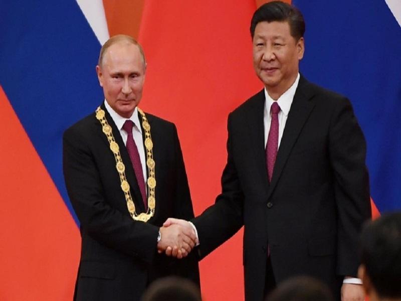 Ши Жиньпин, Владимир Путин нарын шинэ жилийн мэндчилгээний гол мессеж
