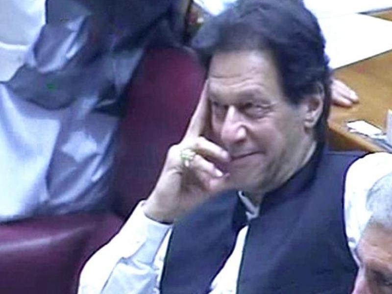 ইমরান খান পাকিস্তানের ২২তম প্রধানমন্ত্রী