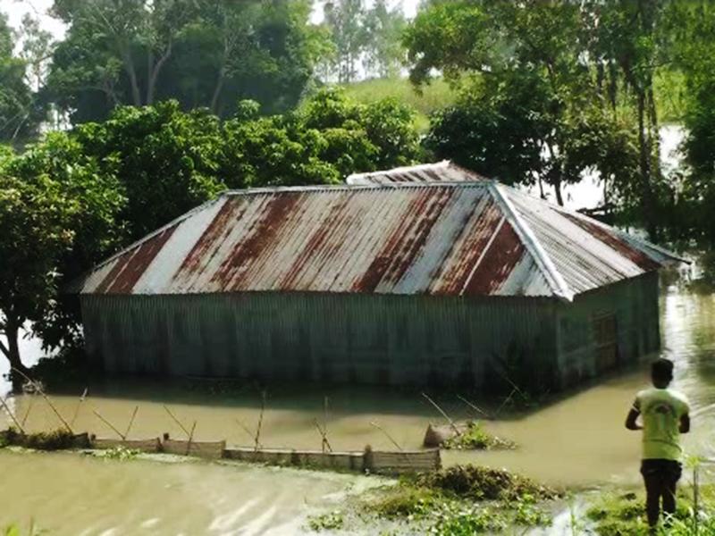 যমুনার পানি বাড়ছেই, সিরাজগঞ্জে বন্যার আশঙ্কা