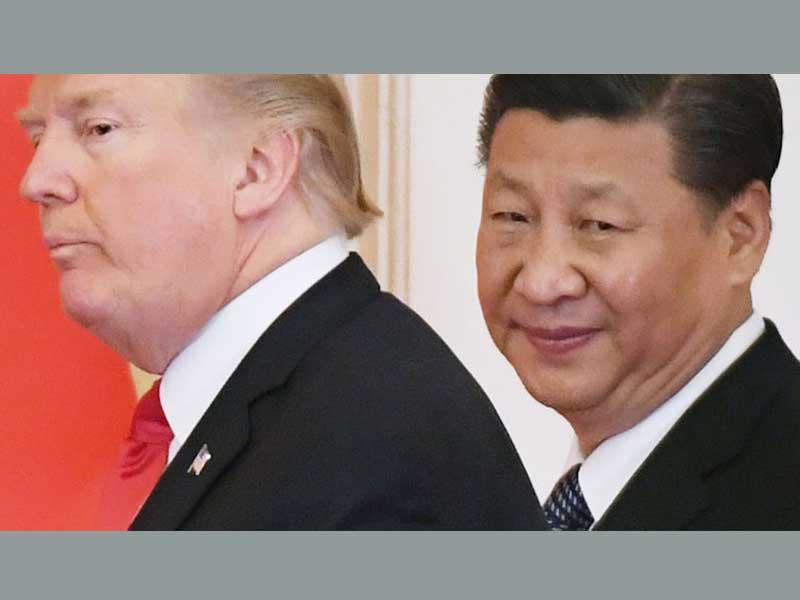 বাণিজ্যযুদ্ধ: আমেরিকার ঘাড়ে নিঃশ্বাস ফেলছে চীন