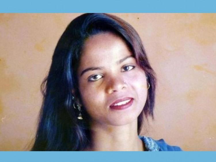 আসিয়া বিবি, কারামুক্তি, পাকিস্তান