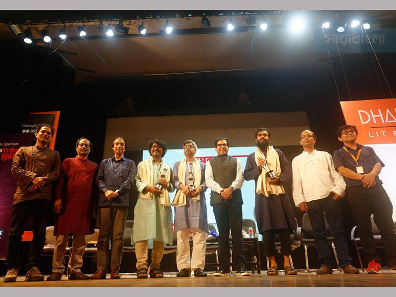 জমজমাট 'লিট ফেস্ট', জেমকন সাহিত্য পুরস্কার ঘোষণা