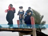 দ্বীপের ২০ হাজার মানুষ নিরাপদে, সরানো যায়নি পাহাড়ের বাসিন্দাদের