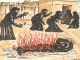 যেভাবে পোড়ানো হয় নুসরাতকে, পিবিআইয়ের সচিত্র বিবরণ