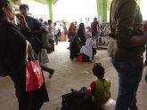 ঢাকায় ফিরতেও ভোগান্তি, ভরসা লোকাল বাস