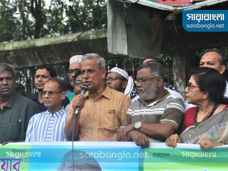আন্দোলনে নামতে প্রস্তুত বিএনপির তৃণমূল: জয়নুল আবদিন ফারুক