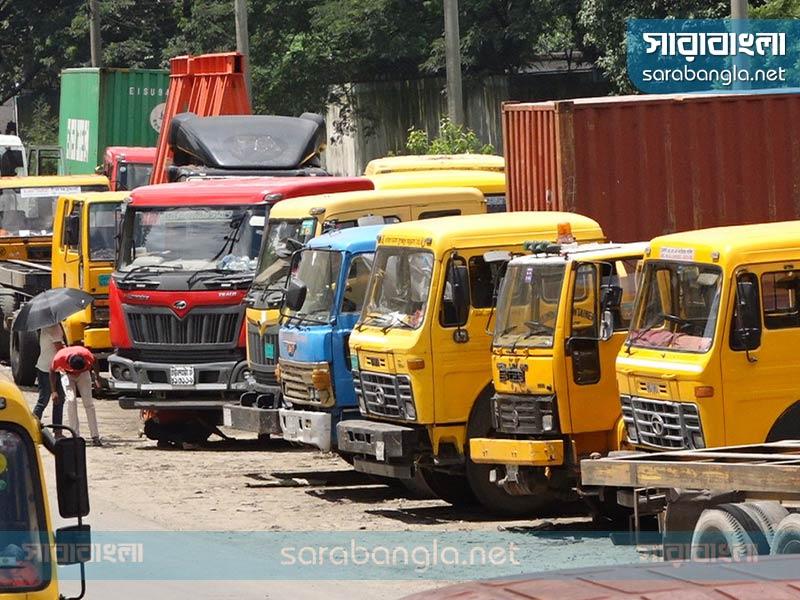 চট্টগ্রামে ২৪ ঘণ্টা প্রাইম মুভার ধর্মঘটের ডাক