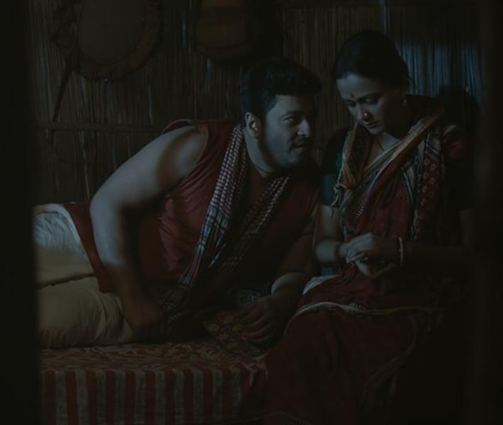 'গন্তব্য' ছবির একটি দৃশ্যে ফেরদৌস ও আইরিন। ছবি: ফেসবুক থেকে নেওয়া