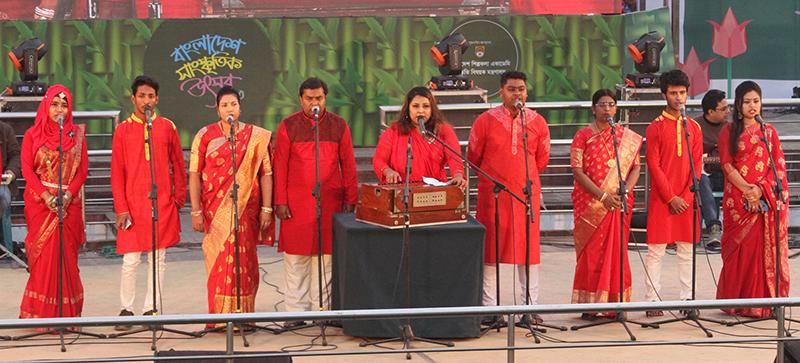 বাংলাদেশ উৎসবে আজ ঐতিহ্যবাহী 'গম্ভীরা'