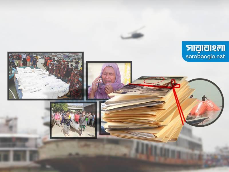 সদরঘাটে লঞ্চডুবি: প্রতিবেদন সোমবার, ময়ূরের মালিক-চালক পলাতক