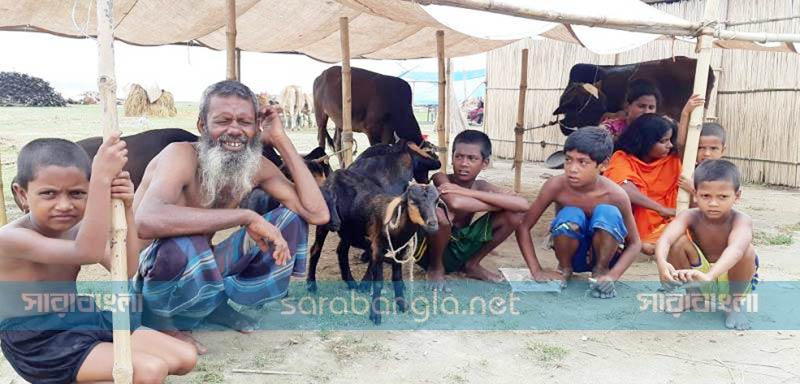 সিরাজগঞ্জ পয়েন্টে পানি কমছে, বাড়ছে রোগ-বালাই