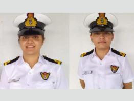 প্রথমবারের মতো ভারতীয় যুদ্ধজাহাজে দায়িত্ব পালন করবেন দুই নারী