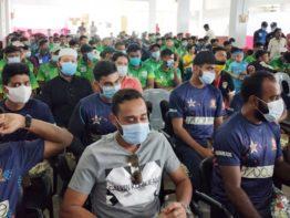 ফরিদপুরে জাতীয় ক্রিকেটারদের ম্যাচে বৃষ্টির বাধা