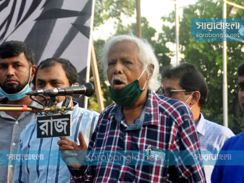 পতনোন্মুখ সরকারকে ধাক্কা দিলেই পড়ে যাবে: জাফরুল্লাহ