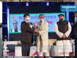 বঙ্গবন্ধুকে জাতীয় চলচ্চিত্র পুরস্কার উৎসর্গ সোহেল রানার