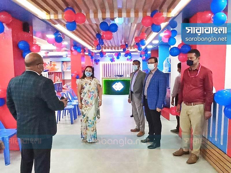 রামপুরায় গাজী টয়েজ প্লে স্টেশনের উদ্বোধন