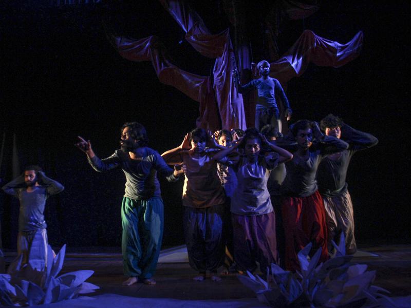 জাতীয় নাট্যশালায় প্রাচ্যনাটের 'খোয়াবনামা'