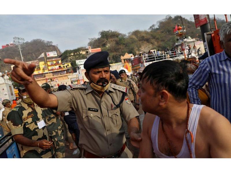 ভারতে কুম্ভ মেলা: করোনা সংক্রমণের নতুন হটস্পট?