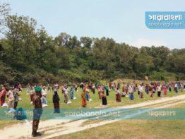 করোনাকালে সেনাবাহিনীর মানবিক সহায়তা