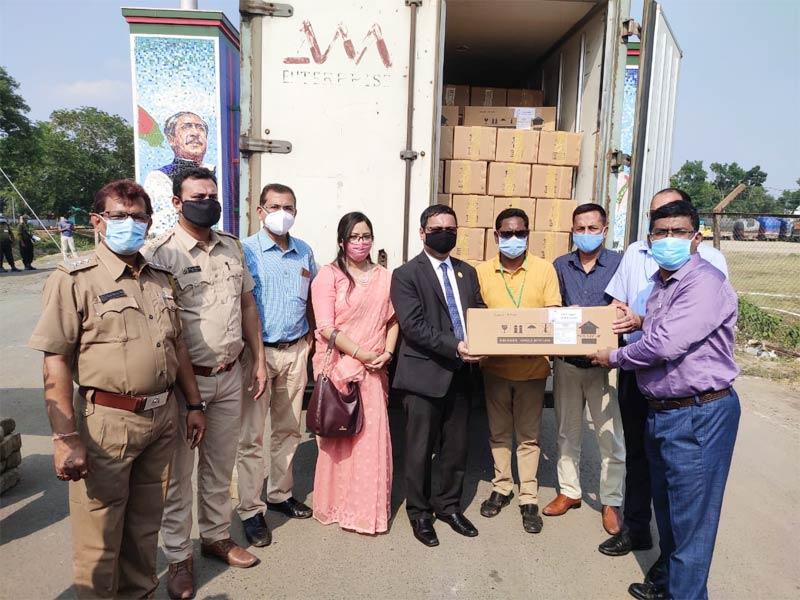ভারতকে জরুরি চিকিৎসা সহায়তা দিলো বাংলাদেশ
