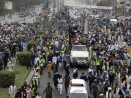 পাকিস্তানে টিএলপির সঙ্গে সংঘর্ষে ৪ পুলিশ সদস্য নিহত