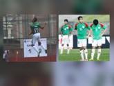 সিনিয়র-জুনিয়র ফুটবল মুদ্রার এপিঠ-ওপিঠ