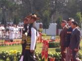 ফোর্ট উইলিয়ামে আবেগ তাড়িত বাংলাদেশি মুক্তিযোদ্ধারা
