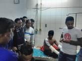 দগ্ধ ছাত্রলীগ কর্মীদের দেখতে হাসপাতালে ওবায়দুল কাদের
