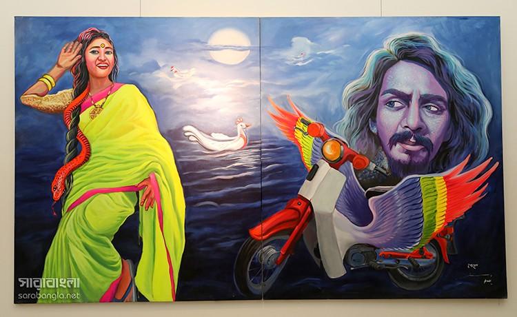 ঢাকা আর্ট সামিট ২০১৮ – ২, ছবি: আশীষ সেনগুপ্ত