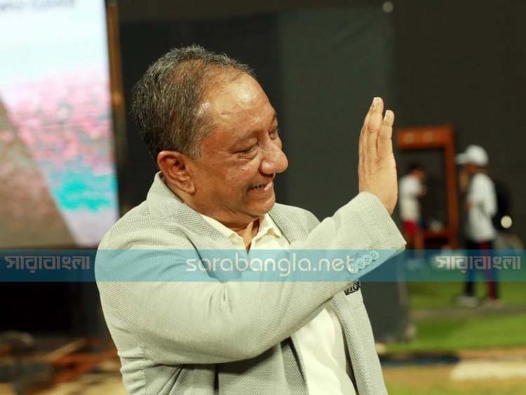 পাকিস্তান বধের দিন নানা অ্যাকশনে বিসিবি সভাপতি (ছবি)