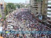 নয়াপল্টনে চলছে বিএনপির সমাবেশ