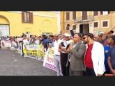 খালেদা জিয়ার মুক্তির দাবিতে ইতালি পার্লামেন্টের সামনে বিক্ষোভ