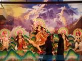 নবমীতে বিচ্ছেদের সুর মন্দিরে মন্দিরে