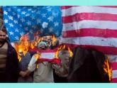 মার্কিন নিষেধাজ্ঞার প্রতিবাদে মুখর ইরানিরা