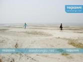 নদীতে পানি নেই, শঙ্কায় সিরাজগঞ্জের কৃষকরা