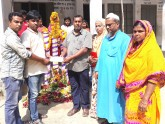 সারাবাংলার সংবাদে শহিদ মিনার পাচ্ছে ক্ষুদে শিক্ষার্থীরা