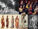 বাঙালি ঐতিহ্যের অনুষঙ্গ শাড়ি