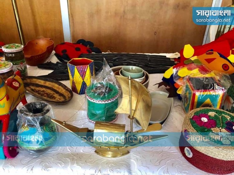 নাইজেরিয়ার বাণিজ্য মেলায় বাহারি পণ্যে পুরস্কার জিতল বাংলাদেশ