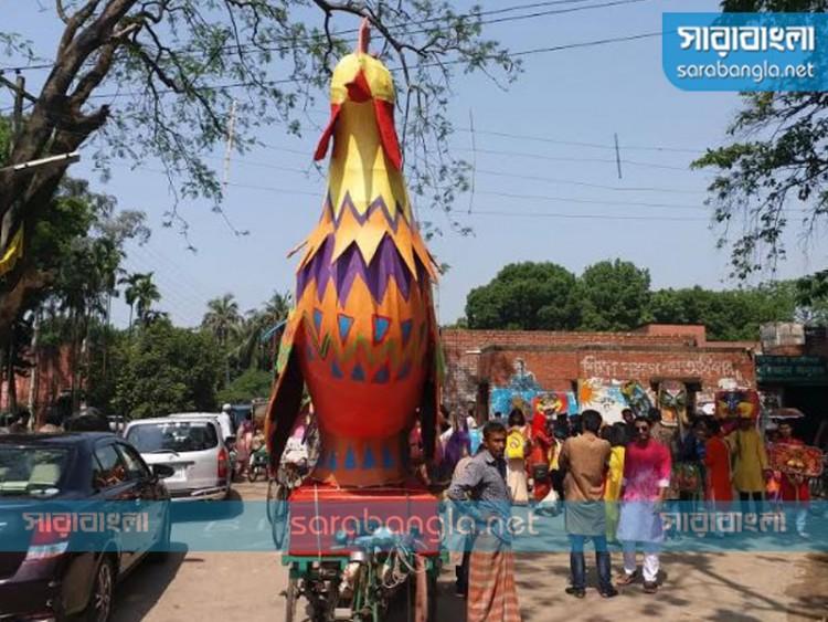 শিক্ষার্থীর আকস্মিক মৃত্যুতে জাবির মঙ্গল শোভাযাত্রা বাতিল