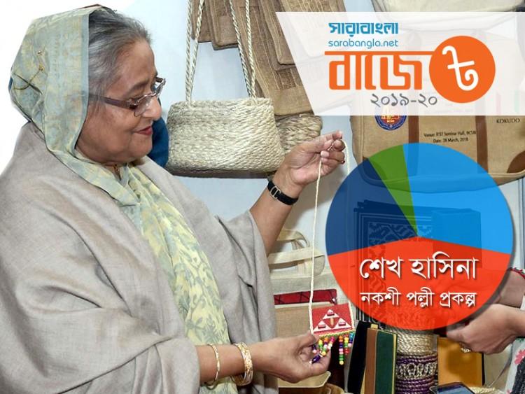বাজেটে অগ্রাধিকার পাচ্ছে 'শেখ হাসিনা নকশী পল্লী প্রকল্প'