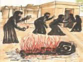 যেভাবে পোড়ানো হয় নুসরাতকে, পিবিআইয়ের সচিত্র প্রতিবেদনে যা ছিল