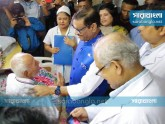 'এটিএম শামসুজ্জামানের শারীরিক অবস্থা উন্নতির দিকে'