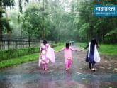 চট্টগ্রাম বিশ্ববিদ্যালয় ক্যাম্পাসে বৃষ্টিবিলাস