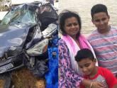 ভার্জিনিয়ায় ভয়াবহ দুর্ঘটনায় আহত বাংলাদেশি মা ও ২ ছেলে