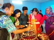 শিল্পকলায় ১২ দেশের ১২৪ শিল্পীর চিত্র প্রদর্শনী