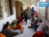চুয়াডাঙ্গায় ভ্যাপসা গরমে হাসপাতালে রোগীদের ভিড়